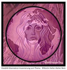 ...zur Bewusstseinsförderung, um den Weg einer uneingeschränkten Anerkennung bewusster zu fördern... Bern, Stained Glass Art, Ghosts, Craft Items, Art Production
