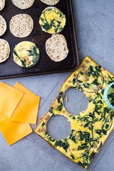 Recipe: Freezer-Friendly Frittata Breakfast Sandwiches — On-the-Go Breakfast Recipes from The Kitchn