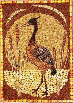 660 Gambar Lukisan Hewan Dari Biji Bijian Gratis Terbaru