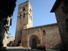 Iglesia de Santa María de Aínsa (Huesca)
