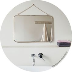 1000 images about miroir on pinterest mirror with shelf for Miroir rectangulaire ikea