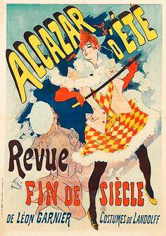 Alcazar d'été. Jules Cheret (1890)