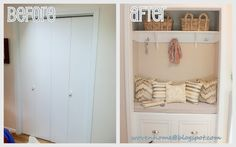 Woven Home: Entry Closet Makeover: The Reveal!