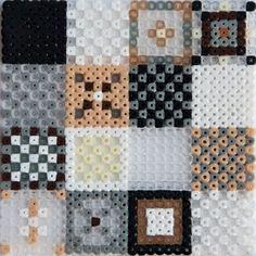 Pattern fun with Hama mini