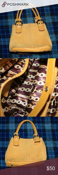 Tignanello purse Used Tignanello purse, great condition, no visible damages, tan leather, 10/7 inches. Tignanello Bags Totes