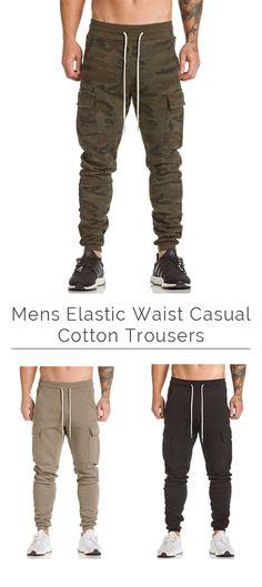 Mens Sport Pants /Casual Cotton Trousers #fashion