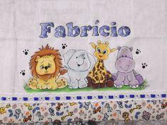 Fralda de Passeio - Safari Baby | Ateliê da Judi | Elo7