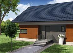 Gorgiasz - zdjęcie 2 House Plans, Sweet Home, Exterior, House Design, Outdoor Decor, Projects, Home Decor, Garden, Arquitetura