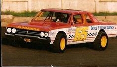 Rare 1965 Olds Cutlass stock car.