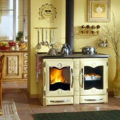 Küchenherd La Nordica America - Farbliche Ausführung in...