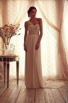 DREAM DRESS: Anna Campbell Gossamer Collection.  Too bad they are only made to measure in Australia....