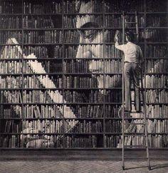 bibliotheque diorama!