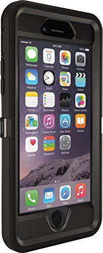 OtterBox iPhone 6 Case - Defender Series, Frustration-Free Packaging - Black (Black/Black) (4.7 inch)