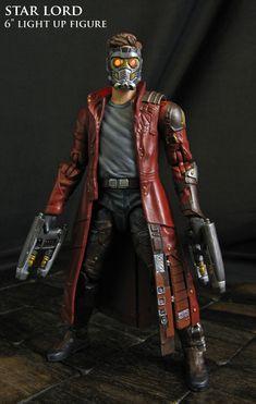 Custom Marvel Legends STAR LORD Guardians of the Galaxy 6