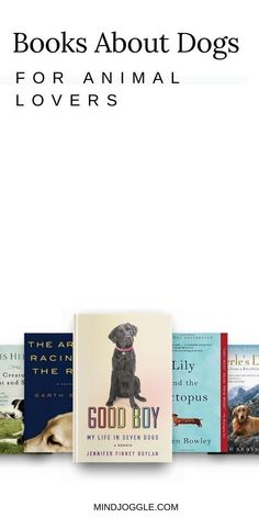 If you're an animal-lover--and especially a dog-lover--then you'll also love these books about dogs. This book list from Mind Joggle includes fiction and nonfiction books that are perfect for people who can't get enough of dogs. #books #booklist #dogs Literary Fiction, Fiction And Nonfiction, Book Lists, Reading Lists, How To Read Faster, Dog Books, Popular Books, History Books, Book Reviews