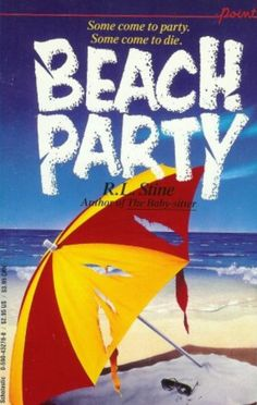 Beach Party - another one of the books from the Point Horror collection. A collection I remember vividly. I used to get one of these every time I went to the Sinclairtown Library and I started buying them too. Lately I have just started to buy some of them of eBay because I loved them so much.