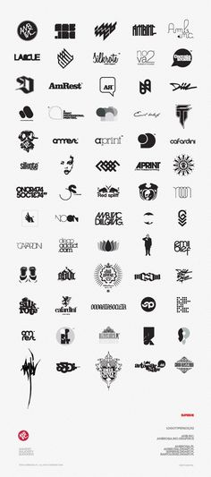 Various logo design inspiration