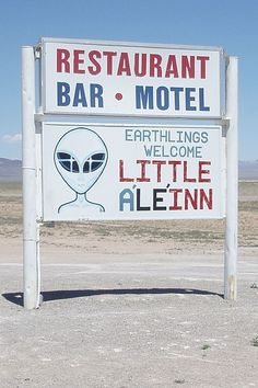 Area 51, Rachel, Nevada + 15 Incredible Road Trips from Las Vegas (photo: Caacrinolaas) // localadventurer.com #Area51