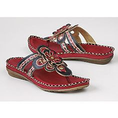 Spangle Thong by Spring Footwear from Seventh Avenue