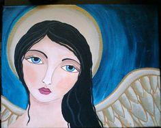 #homedecor #AngelTherapy #Peace #Angels #folkart #psalm91 #God #heaven