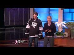 Anže Kopitar on The Ellen DeGeneres Show - YouTube