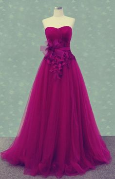 Sweetheart Prom Dress,Tulle Prom Dress