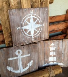 Nautical art for Nursery or Living area.