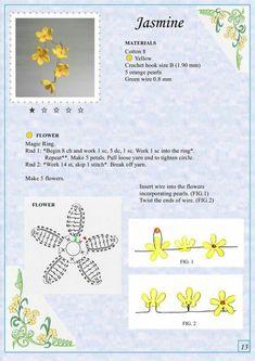 Мобильный LiveInternet Альбом «The Book of Crochet Flowers