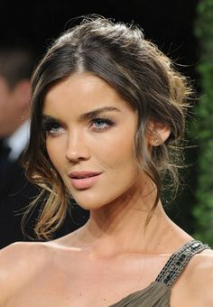 Perfect Makeup For A Wedding Guest : Were thinking this one is perfect wedding-guest hair ...