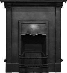 UKAA buy and sell Carron Abingdon Victorian Black Finish Cast Iron Combination Fireplace online and for sale in our architectural salvage and reclamation yard in cannock wood staffordshire. Cast Iron Fireplace, Stove Fireplace, Faux Fireplace, Fireplaces, Antique Wood Stove, How To Antique Wood, Fireplace Fender, Kitchen Butlers Pantry, Cast Iron Bath
