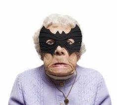 "Who is ""old lady""?..., IM BATMAN!!!"