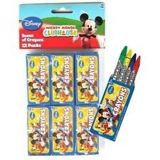 Amscan // Mickey Mouse Mini Boxes of Crayons | 12 ct - $6.00