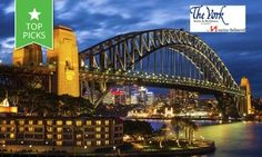 Groupon - Sydney CBD: From $ 319 for an Inner City Stay for Four People at The York by Swiss-Belhotel in Sydney. Groupon deal price: $319