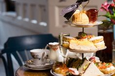 Beautiful afternoon tea in Liverpool from Cuthberts Bakehouse. Sit in our lovely bakehouse and experience the best afternoon tea Liverpool has to offer. Best Afternoon Tea, Uk Trip, Cuthbert, Vegan Restaurants, Liverpool, Woods, Travel Destinations, England, Beautiful