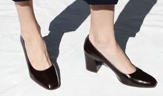 Maryam Nassir Zadeh Maryam Pumps in Chocolate, Size 39; eBay for $198