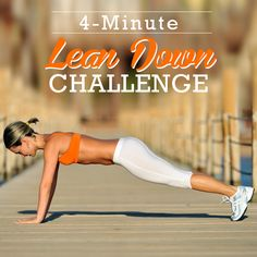 4-Minute Lean Down Challenge