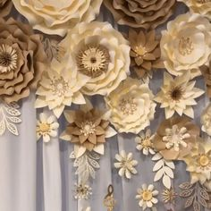 Please check availability before placing an order. Each order is custom tailored, and made by order by our designer. After initial booking day please provide 4 week lead time for creation. Paper Flowers Craft, Large Paper Flowers, Paper Flowers Wedding, Paper Roses, Flower Crafts, Diy Flowers, Paper Flowers On Wall, Paper Decorations, Flower Decorations