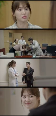 New Teasers Show Song Hye Kyo as a Feisty Doctor Flirting with Song Joong Ki in Descendants of the Sun | A Koala's Playground