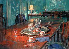 Il mondo di Mary Antony: I dipinti di interni di Susan Ryder