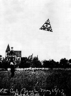 Tetrahedral Kites by Alexander Graham Bell, 1898-1912