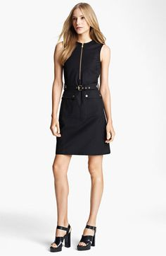 I like the shape, but idk who'd pay $1,295 for it --Michael Kors Belted Broadcloth Dress @ #Nordstrom