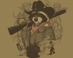 """Rocky didnt like that, he said """"Ima get that boy"""" so one day he walked into town booked himself a room in the local saloon. Rocky Raccoon he checked into his room, only to find gideons bible..."""
