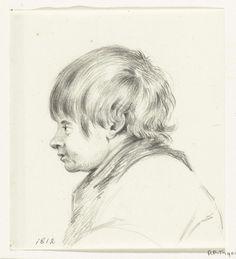 Jean Bernard | Buste van een jongen, naar links, Jean Bernard, 1812 |
