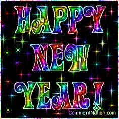 Happy New Year Rainbow Stars Image: Graphic Comment Meme or GIF Source: terrijoh Happy New Year Meme, New Year Gif, Happy New Year 2014, Happy New Year Greetings, New Year Wishes Images, Happy New Year Pictures, Happy New Year Animation, Happy Names, Happy New Year Wallpaper