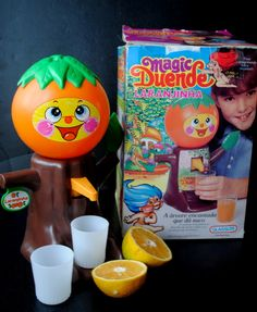 Brinquedos Glasslite: Laranjinha