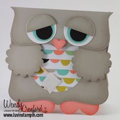 Check Out WEEKLY DEALS here <————- SHOP my ONLINE STORE ANYTIME2014 Celebrate the Everyday Catalog SALE A BRATION FLYER This owl is beyond adorable. I was roaming around on Pinterest and found this little gal. I found her owner, and she agreed to let me make a video on how to make this cutie patootie! …