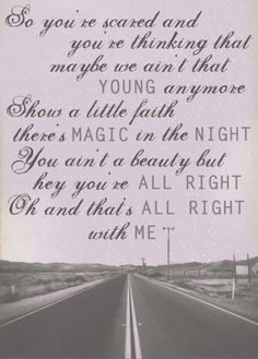A Great Verse from a Great Song - Thunder Road - Bruce Springsteen