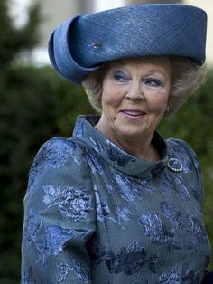 HM Queen Beatrix of The Netherlands! Can not believe she is leaving. King Willem the 4th is next!