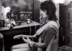 """doraemonmon: """" Ron Wood - The Rolling Stones """""""