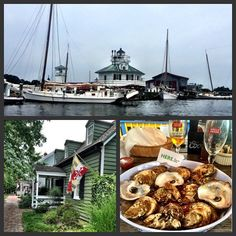 Let's have a big ol' HERE.'s to being on the water, Sunday Funday and living in Maryland!! Saint Michaels, MD